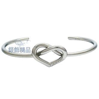 【錶飾精品】Calvin Klein CK飾品 KJ6BMF0001-女性C形開口式手環 316L白鋼 全新原廠正品