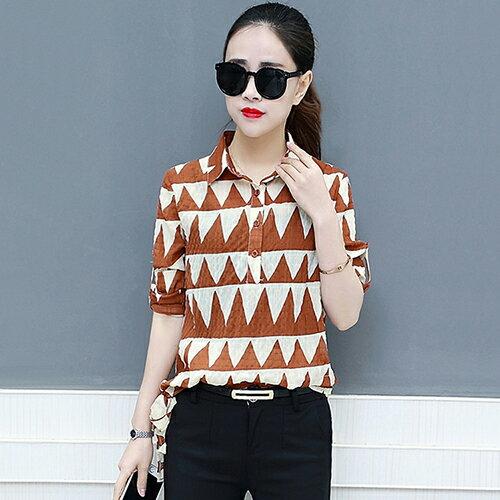 韓版寬鬆時尚襯衣休閒小衫(4色S~2XL)*ORead* 0