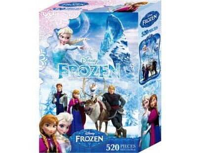 冰雪奇緣520片盒裝拼圖(A)