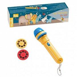 【淘氣寶寶】法國MoulinRoty故事手電筒-非洲草原【保證公司貨】