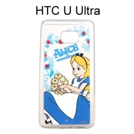 迪士尼透明軟殼 [花語]愛麗絲 HTC U Ultra (5.7吋) 【Disney正版授權】