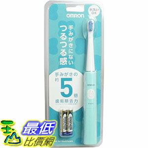 ^~106東京直購^~ OMRON HT~B210~G 綠色 超音波電動牙刷 HT~B20