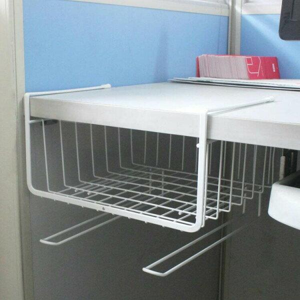 書桌櫥櫃收納置物架(白)✤朵拉伊露✤