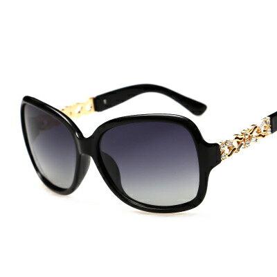 墨鏡圖騰鑲鑽鏤空造型時尚太陽眼鏡【KS9103】BOBI0315