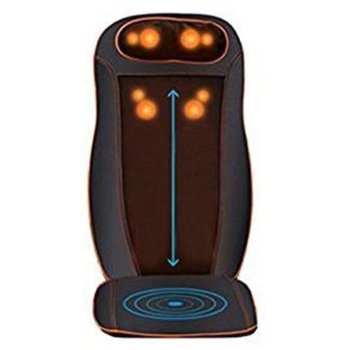 All in one Kneading Shiatsu Vibration Infrared Heating Seat Massage Cushion SI-CM8809 89ae5ce0c9b081b28f989855a6768dda