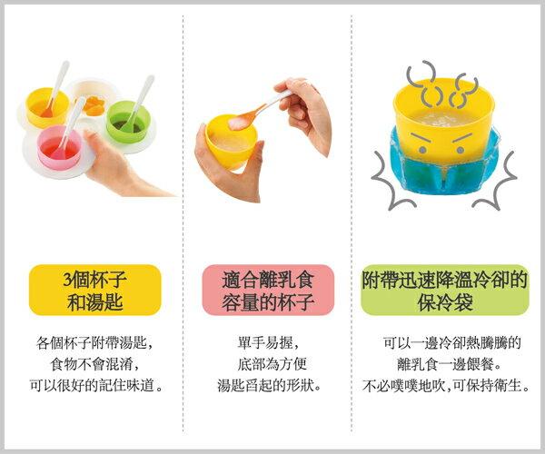 Richell利其爾 - ND 離乳食初期餐具套組 5