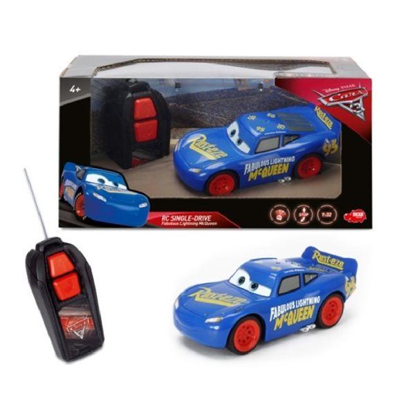 Cars3 基礎版 Final Race 閃電麥坤1:32/ 1:32 RC Fabulous / 汽車總動員 / 遙控車/ 伯寶行
