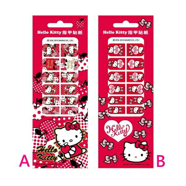 X射線【C952538】Hello Kitty 指甲貼紙,便條/貼紙/記事本/DIY/手創/佈置
