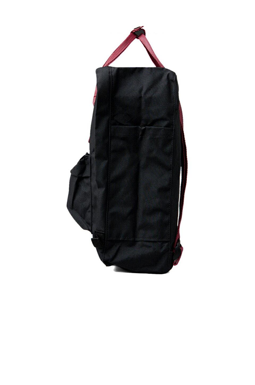 【Fjallraven Kanken 】K?nken Classic 550-326 Black & Ox Red 黑公牛紅【全店免運】 2