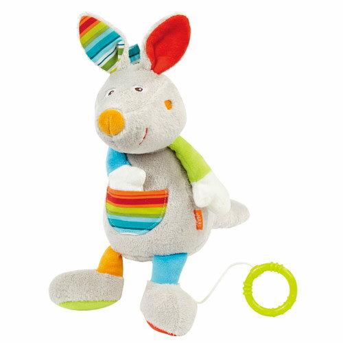 小奶娃婦幼用品:babyFEHN芬恩-歡樂假期袋鼠拉環音樂