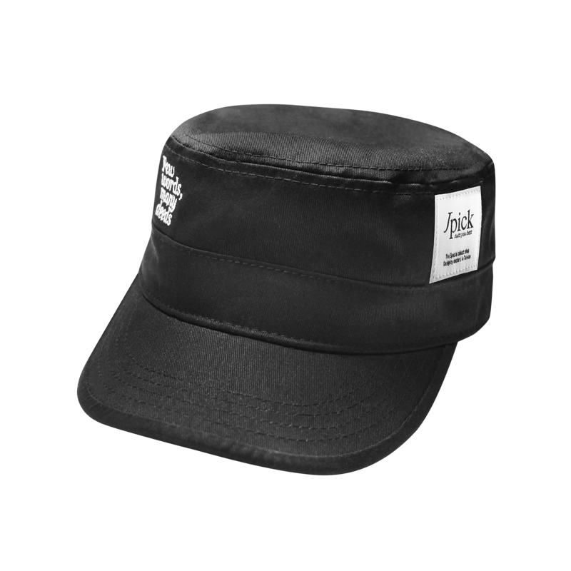 Jpick 軍帽Few 黑色