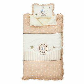 【淘氣寶寶】奇哥 Peter Rabbit 優雅比得兔兩用睡袋(120x150公分)【睡墊×1、被子×1、枕芯×1】