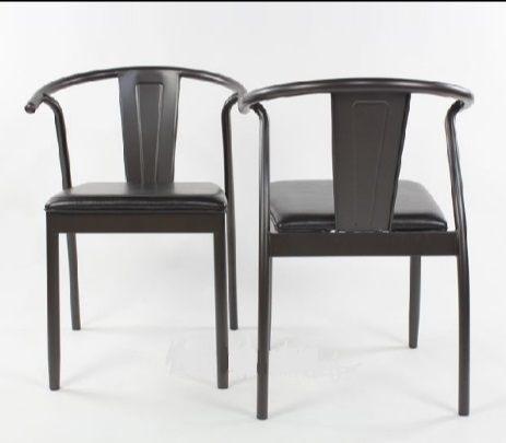 《Chair Empire》現貨 工業風餐椅 復古餐椅 鐵管餐椅 皮椅墊 書桌椅 休閒椅 扶手椅 y chair