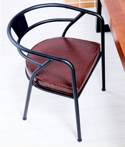 《Chair Empire》工業風餐椅/復古餐椅/鐵管餐椅/皮椅墊/書桌椅/休閒椅/扶手椅