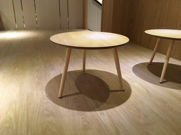 《Chair Empire》矮茶几 圓茶几 圓型餐桌 北歐設計 原木風格 小茶几 矮咖啡桌 沙發矮几 桌邊茶几
