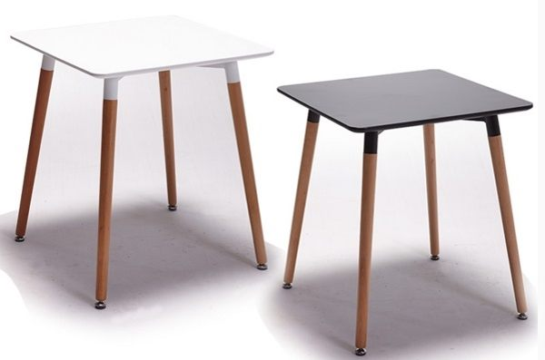 《Chair Empire》80方桌 EAMES餐桌 DSW伊姆斯餐桌 休閒圓桌 方餐桌 時尚圓桌 復刻版 白/黑