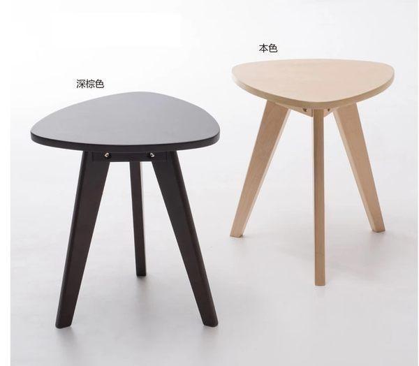 《Chair Empire》實木茶几 圓形小桌 現代沙發旁邊茶几 轉角茶几 北歐茶几 日月茶几 床頭茶几 三角茶几