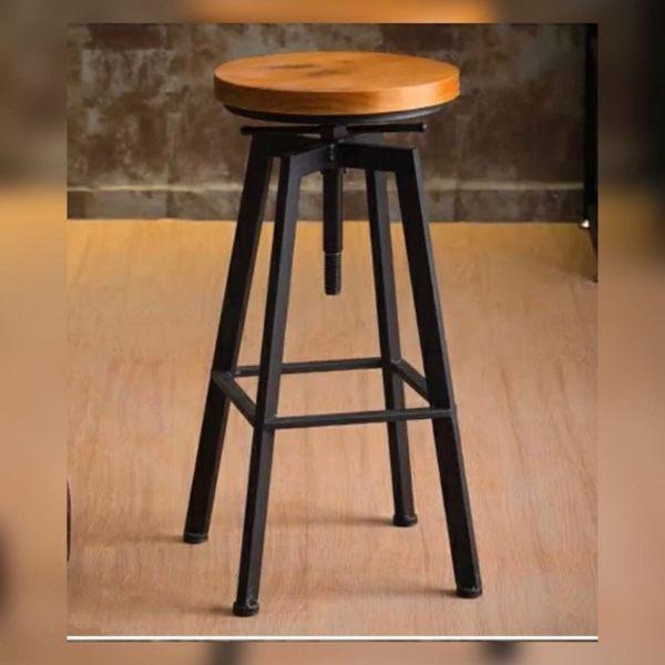 《Chair Empire》北歐複古工業設計/鐵藝餐椅/吧台椅/吧凳/酒吧椅/複古升降吧椅/吧台椅/高腳凳/吧椅