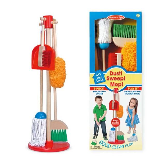 《 美國 Melissa & Doug 》角色扮演-幼兒掃地清潔工具組 東喬精品百貨