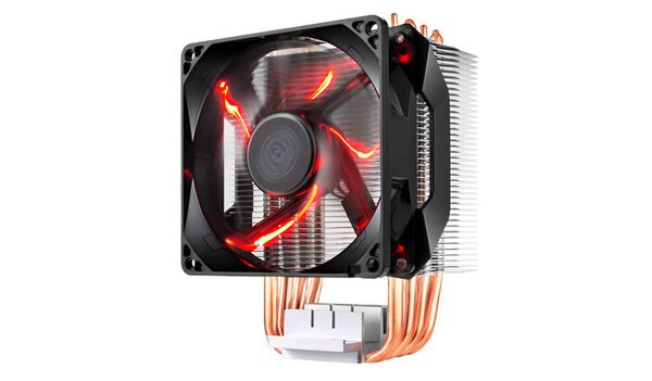 ☆宏華資訊廣場☆CoolerMasterHyperH410R(紅光)塔型熱導管CPU散熱器