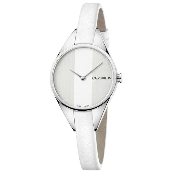 CK卡文克萊叛逆系列(K8P231L6)小巧個性時尚腕錶白面29mm