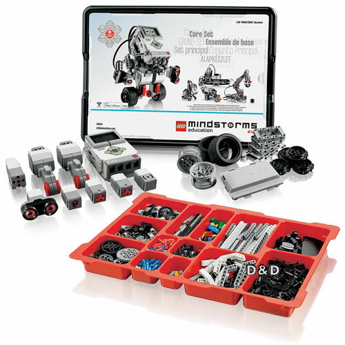樂高積木LEGO《LT45544》Education系列-EV3教育核心組(541PCS)