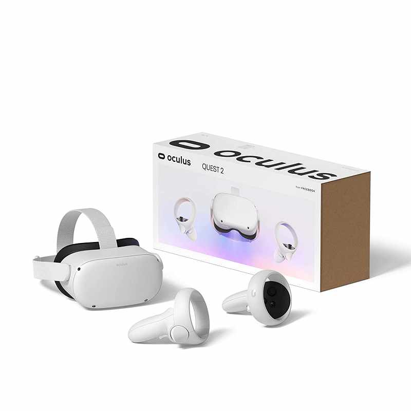 Oculus Quest 2 多合一VR虛擬實境耳機 64 GB Advanced All-In-One Virtual Reality Headset [2美國直購]