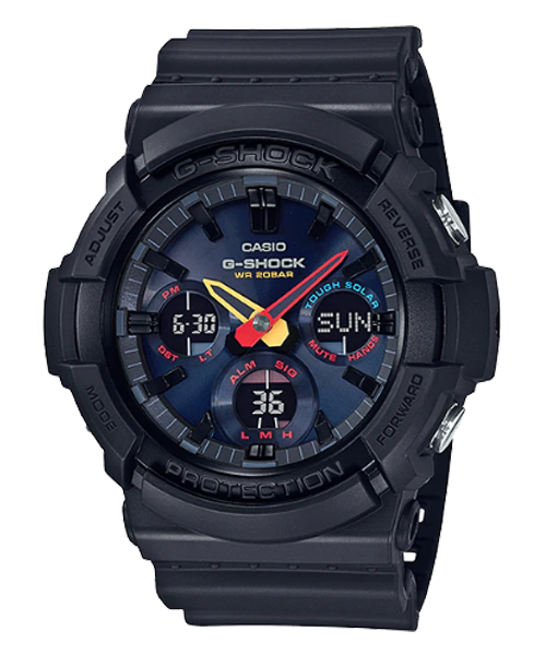 G-SHOCK 東京霓虹太陽能腕錶(GAS-100BMC-1A) 0