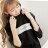 ◆快速出貨◆長袖T恤.情侶裝.班服.MIT台灣製.獨家配對情侶裝.客製化.純棉長T.方框ENJOY【YL0404】可單買.艾咪E舖 4