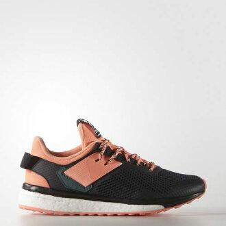 《限時特價↘7折免運》Adidas RESPONSE 3 女鞋 慢跑鞋 運動 boost? 輕量 黑 粉橘 【運動世界】 AQ6105├【0621-0625】單筆滿799元結帳輸入序號:7991002..