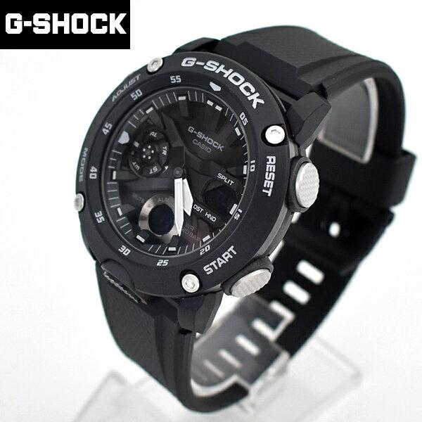 G-SHOCK 強悍風格黑白雙顯錶【NECG33】