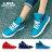格子舖*【KBP-1030】MIT台灣製 布面材質 可愛反摺點點 綁帶高筒休閒運動鞋 布面休閒鞋 3色 0