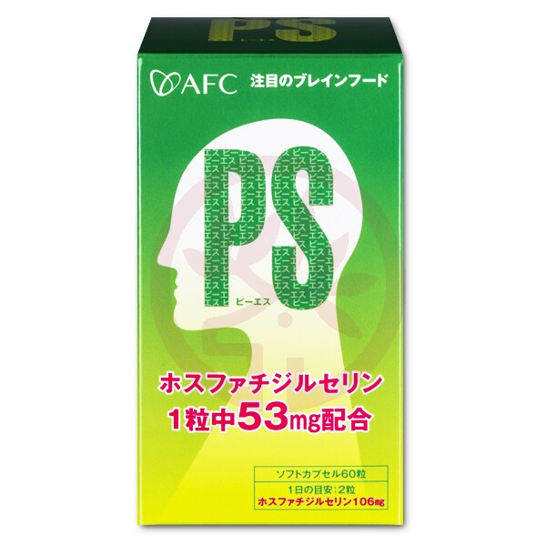 AFC宇勝淺山 記清PS膠囊食品(大豆卵磷脂)(60粒/罐)