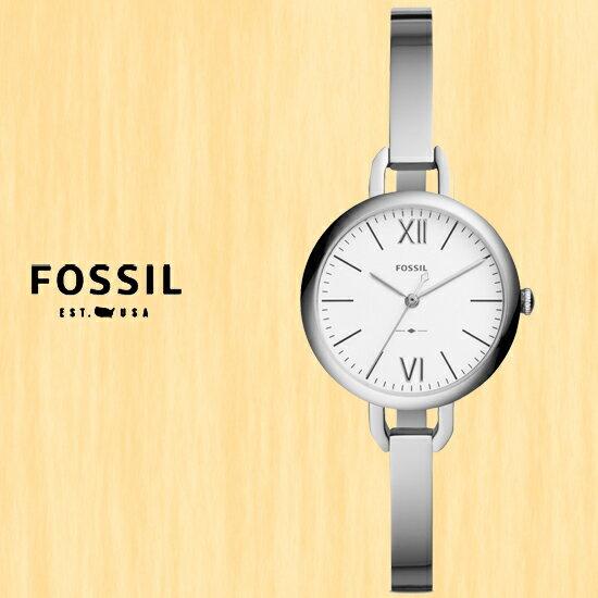 FOSSIL美國品牌ANNETTE簡約時尚淑女腕錶ES4390公司貨禮物