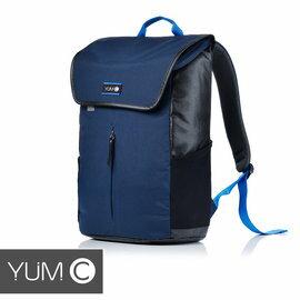 【美國Y.U.M.C.URBS系列STR'T可入15吋筆電防潑水休閒後背包-藏青藍】電腦包雙肩包通勤包可容納15吋筆電平板【風雅小舖】