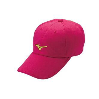 環保材質 女運動路跑帽 J2TW560068 (桃紅)【美津濃MIZUNO】