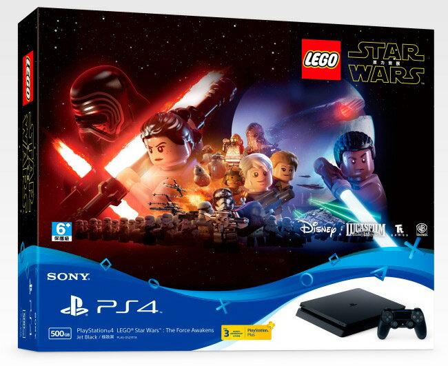 預購中 公司貨 12月15日發售 一年保固  [PS4主機] PlayStation 4 樂高星際大戰:原力覺醒 同捆機