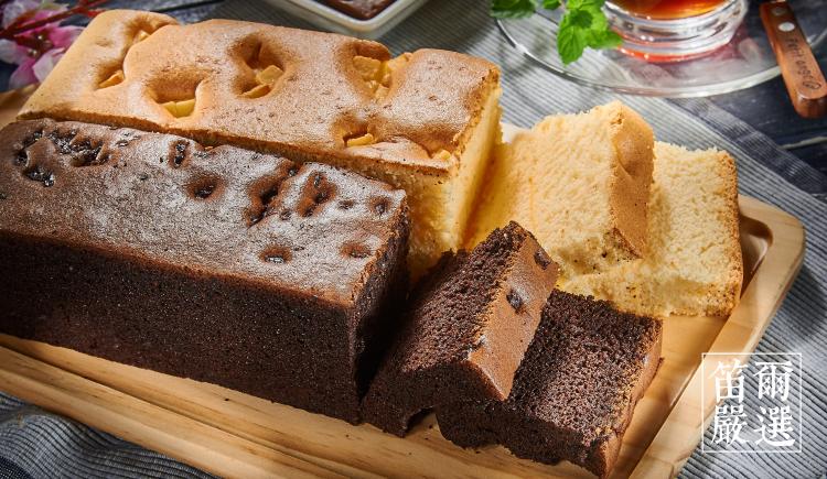 【五種口味免運組合】黃金蛋糕(600g)+比利時巧克力蛋糕(300g)+香濃起士蛋糕(300g)+南瓜乳酪蛋糕(300g)+日式蜂蜜蛋糕(300g)-笛爾手作現烤蛋糕 8