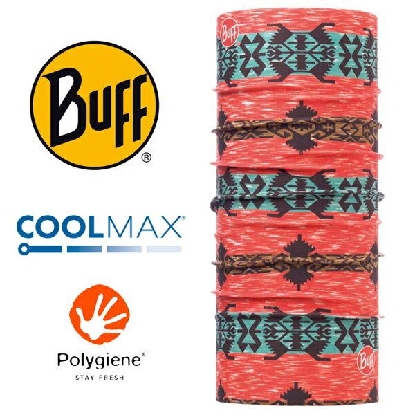 【Buff西班牙】魔術頭巾系列COOLMAX抗UV頭巾-謎城魅影/BF117019-531