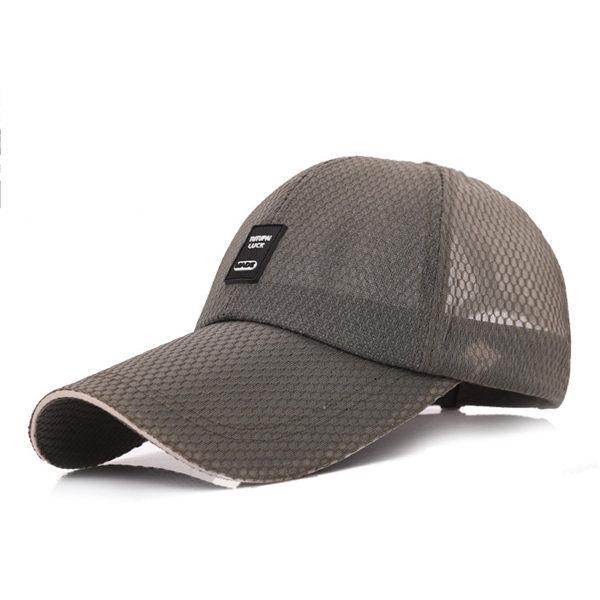 PS Mall 大簷遮陽帽11cm戶外網帽子【G1007】 1