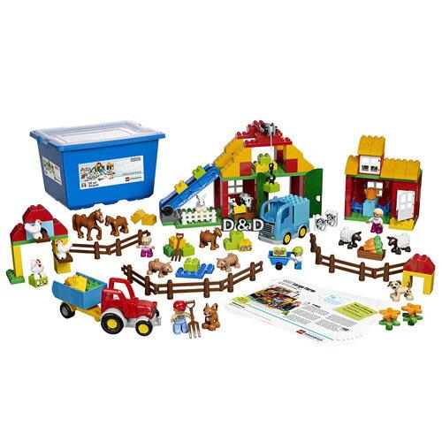 樂高積木LEGO《LT45007》DuploEducation得寶教育系列-大農場(154PCS)