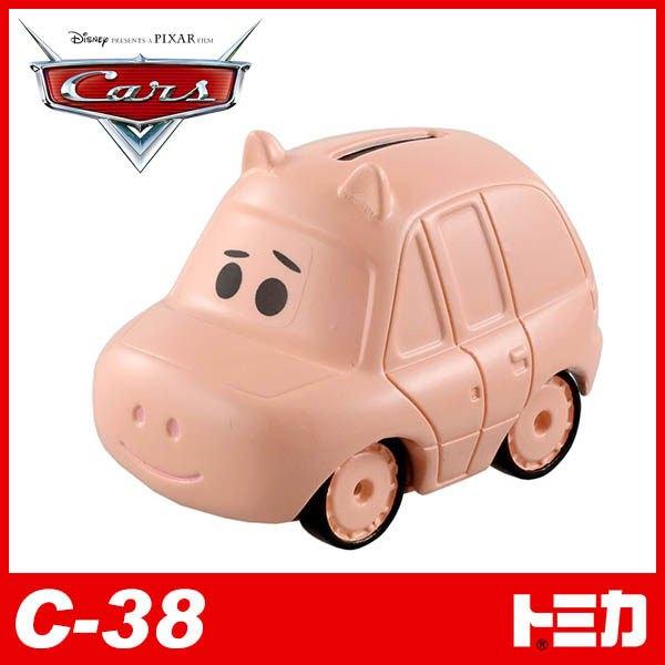 【 TOMICA 】汽車總動員 CARS - C38 火腿豬