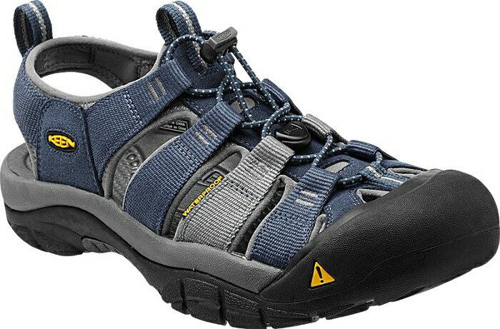 [ KEEN ] 涼鞋/運動涼鞋/護趾涼鞋/拖鞋 Newport H2 男 1012206 深藍灰/台北山水