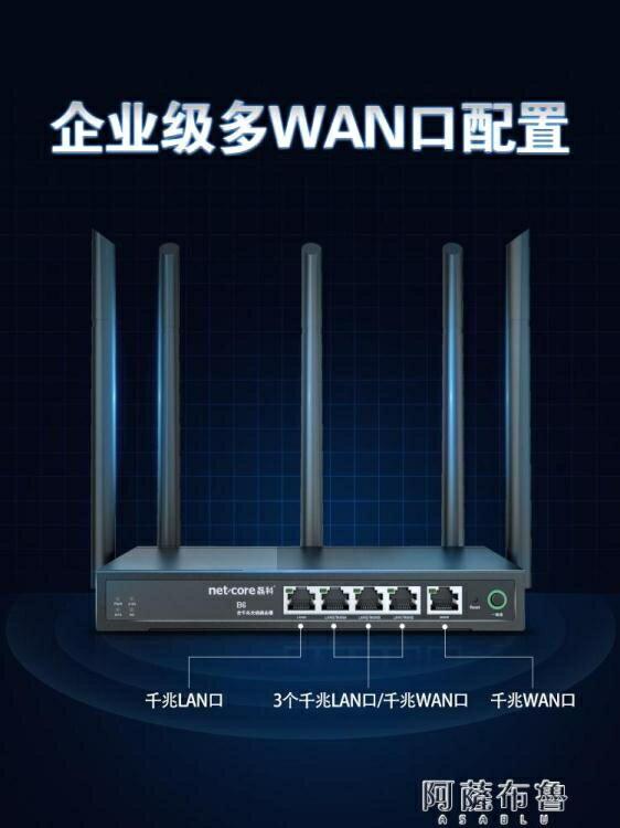 路由器 磊科全千兆無線路由器B6商鋪專用wifi企業級5G雙頻1200M高速穿墻