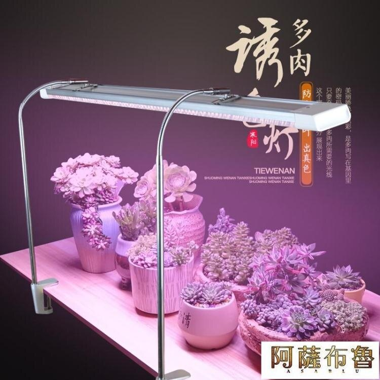 植物燈 多肉補光燈植物燈家用上色仿太陽全光譜室內光合作用生長燈多肉燈