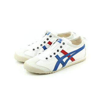 Onitsuka Tiger MEXICO 66 SLIP-ON 運動鞋 白藍 男款 no236