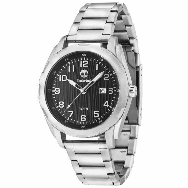 大高雄鐘錶城 Timberland 天柏嵐 TBL.13330XS/ 02M 歐式潮流時尚腕錶/ 黑面45mm