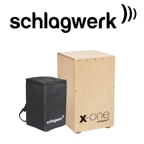 【Schlagwerk 斯拉克貝克】 SWPD-CP104 X-One木箱鼓 / 贈鼓袋 公司貨