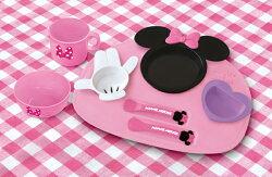 日本 迪士尼 Disney 米妮可愛餐具組 (豪華組)