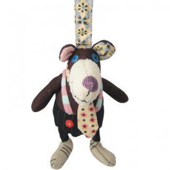 【全新品3折出清】法國【 DEGLINGOS】布偶吊飾 - 熊